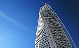 Turning Torso, Construction Fibres supplied by Danish Fibres
