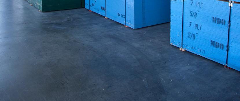 Indoor concrete floors reinforcement