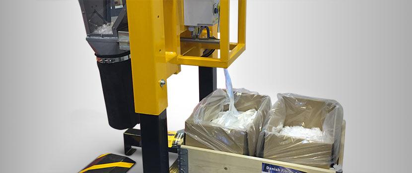 Onsite Fibre Cutting Machine from Danish Fibres