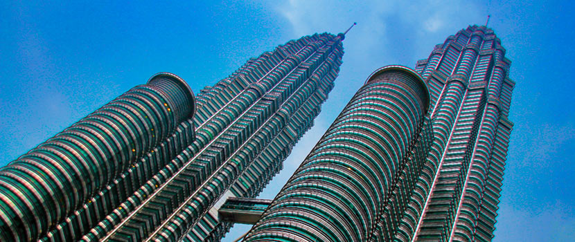 Petronas Towers, construction fibres supplied by Danish Fibres